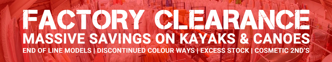 Factory Clearance Offers On Kayaks And Canoes At Bournemouth Canoes