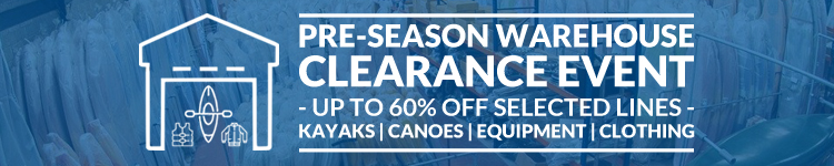 Bournemouth Canoes Pre-Season Warehouse Clearance Event