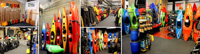 Here at Bournemouth Canoes we hold a wide range of canoes kayaks and accessories for new and experienced paddlers - shop images