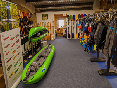 Canoes and kayaks for sale