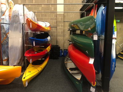 Bournemouth Canoes stock a full range of canoes and kayaks in Dorset