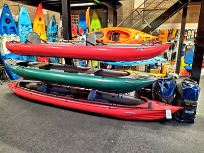 Gumotex Kayaks from Bournemouth Canoes Shop