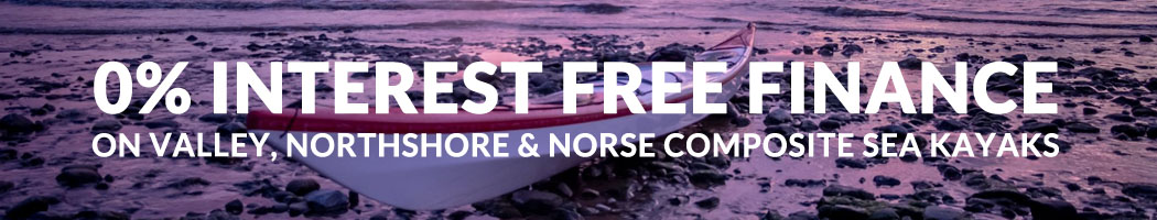 0% Finance On Composite Valley, Northshore & Norse Sea Kayaks At Bournemouth Canoes