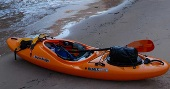 Crossover and general purpose kayaks at Bournemouth Canoes
