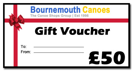 bournemouth canoes gift voucher
