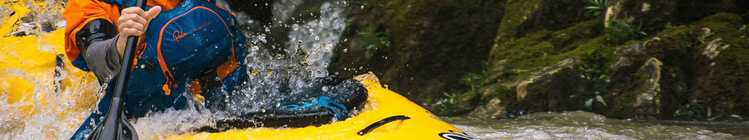 Nylon and Neoprene Spraydecks for sale from Bournemouth Canoes - Canoe specialists