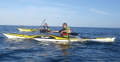Sea kayaks for sale at Bounremouth Canoes