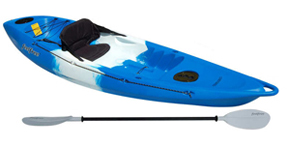Feelfree Roamer 1 Sit On Top Kayak Package Deals Available at Bournemouth Canoes