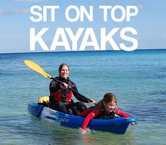 Sit On Top Kayaks To Buy at Bournemouth Canoes