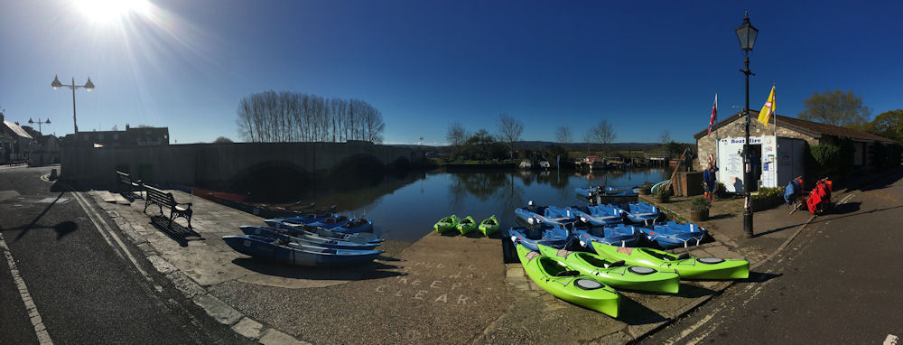Wareham Boat hire use kayaks and canoes supplied by Bournemouth Canoes