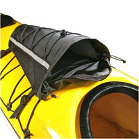 Deck bags for sea kayaks and touring kayaks