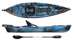 Enigma Kayaks Fishing Pro 10 sit on top
