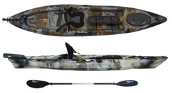 Enigma Kayaks Fishing Pro 12 sit on top