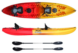 Enigma Kayaks Flow Duo sit on top