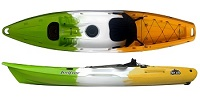 Feelfree juntos sit on top kayak Pefrect for solo use as well as with a child