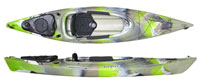 Feelfree Windermere a cross between an sit in side kayak and sit on top kayak ideal for fishing