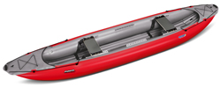 Gumotex Palava 2 Person C2 Style Open Inflatable Canoe With Bench Seats