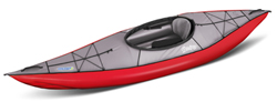 Gumotex Swing 1, A Solo Sit Inside Infaltable Kayak Ideal For Touring