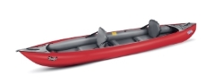 Gumotex Thaya nitrilon heavy duty inflatable blow up kayak with solid drop stitch floor