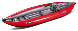 Gumotex Twist 1 A Solo Inflatable Sit On Top Style Kayak