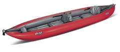 Gumotex Twist 2 a tandem spacious inflatable kayak, sit on top canoe