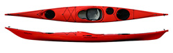 Northshore Atlanic Plastic Sea kayak