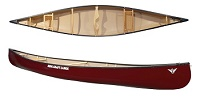 Novacraft Canoes Pal 16 Tuffstuff Lightweight Open Canoe For Flat Water Paddling