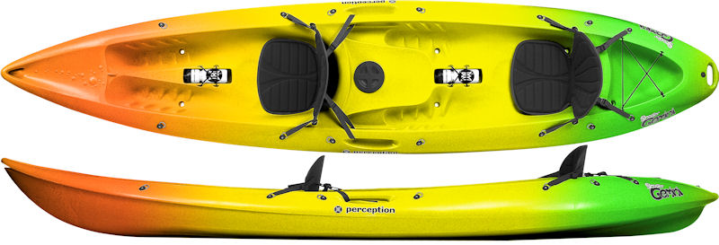 Perception Gemini | Tandem Sit on Top Kayaks