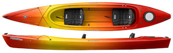 Perception Prodigy Tandem sit inside kayak