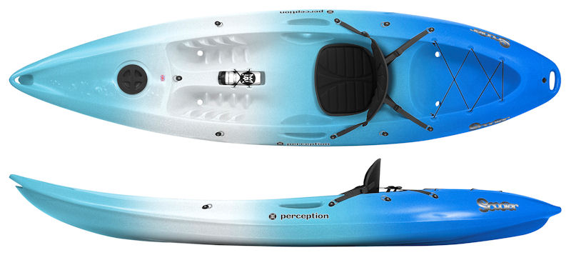 Perception Scooter | Sit on Top Kayaks