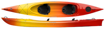 Wavesport Vista Tandem Open Cockpit Kayak Perfect For Touring
