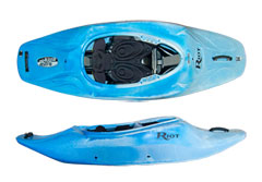 Riot Astro is a freestyle playboat perfect for tricks and flips