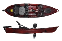 Riot Mako 10 Pedal Drive Affordable Kayak