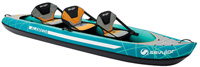 Sevylor Alameda 3 person family inflatable kayak or canoe