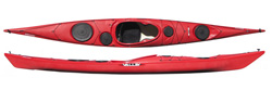 New Valley Sirona RM Plastic Sea Kayak
