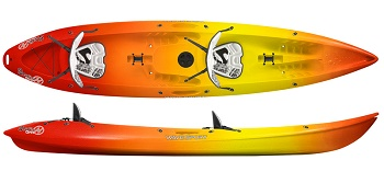 Wavesport Scooter Gemini Tandem Double Sit On Top Kayak