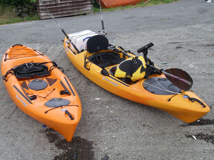 Wilderness systems tarpon 120 sit on top kayaks for Wilderness systems fishing kayaks